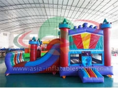 Customized Party Use Inflatable Bouncer And Slide Combo