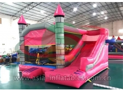 Customized Inflatable Jumping Castle With Mini Slide
