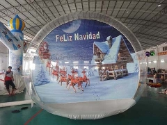 Perfect Design Bubble Tent Inflatable Snow Globe for Take Photo in Factory Price