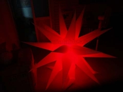 Perfect Design Inflatable Lighting Star in Factory Price