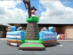 Pirate Mountain Climb, Inflatable Rock Climbing Wall & Interactive Sports Games