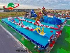 Inflatable Metal Frame Swimming Pool